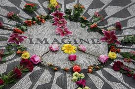imagine peace petals ernienotbertblogspot